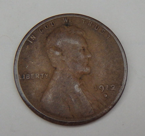1912-D Lincoln Cent