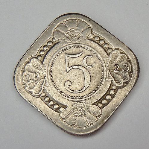 Netherlands - 5 Cents - 1923
