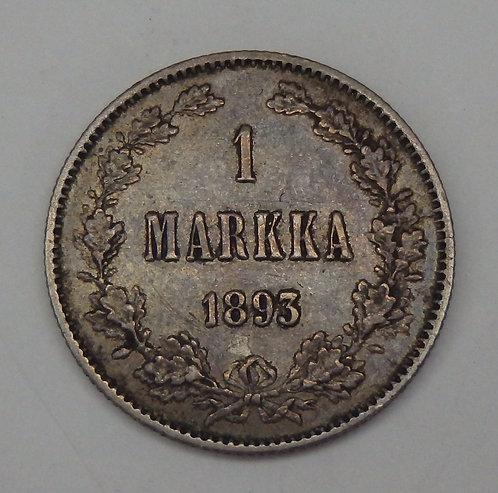 Finland - Markka - 1893-L