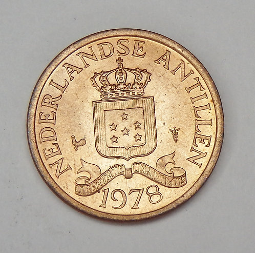 Netherlands Antilles - Cent - 1978