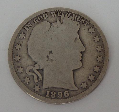 1896 Barber Half Dollar