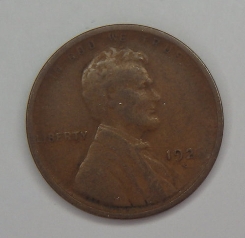 1921-S Wheat Cent