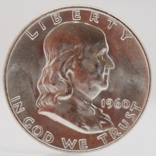 1960-D Franklin Half Dollar