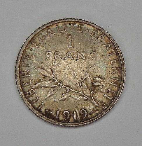 France - Franc - 1919
