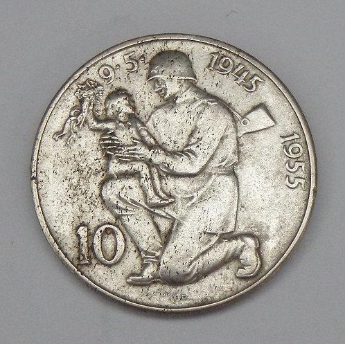 Czechoslovakia - 10 Korun - 1955