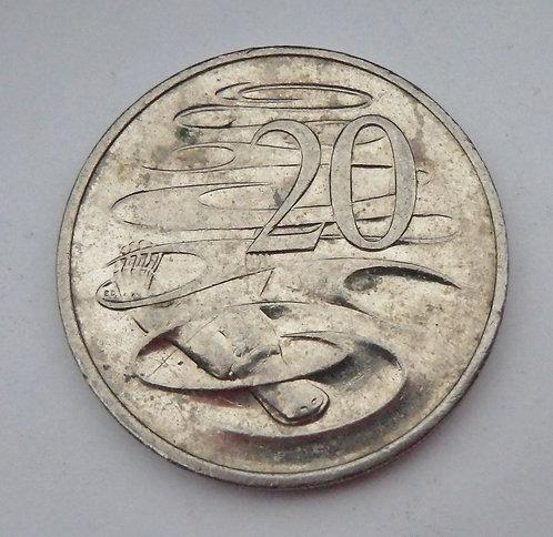 Australia - 20 Cents - 1998