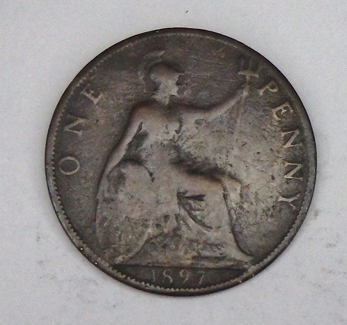 Great Britain - Penny - 1897