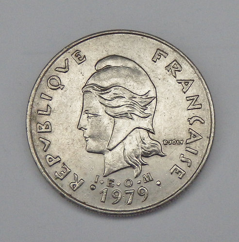French Polynesia - 20 Francs - 1979