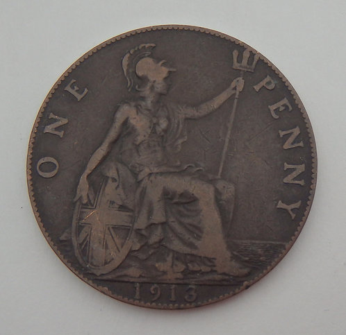 Great Britain - Penny - 1913