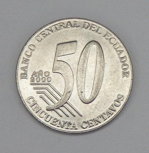 Ecuador - 50 Centavos - 2000