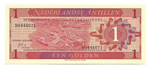 Netherlands-Antilles - Gulden - 1970