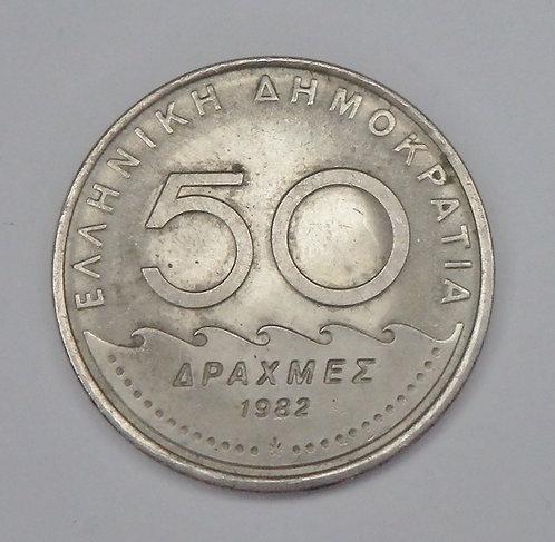 Greece - 50 Drachmes - 1982
