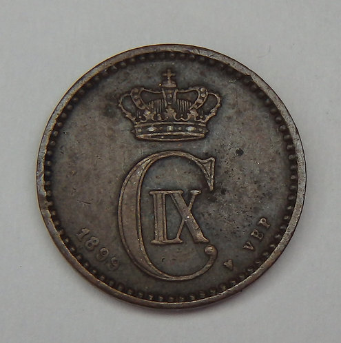 Denmark - Ore - 1899