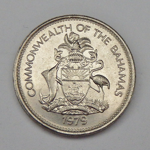 Bahamas - 25 Cents - 1979
