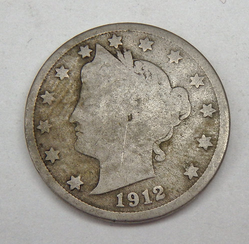1912-S Liberty V Nickel