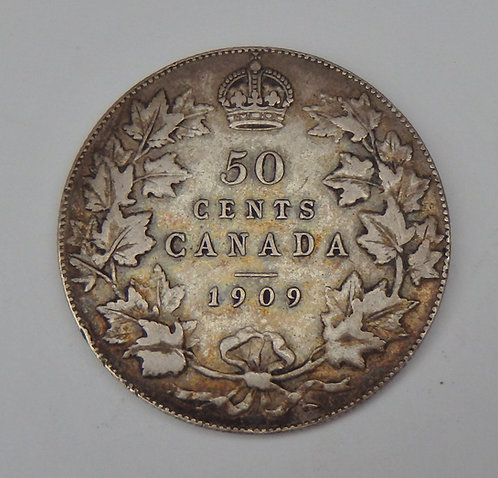 Canada - 50 Cents - 1909