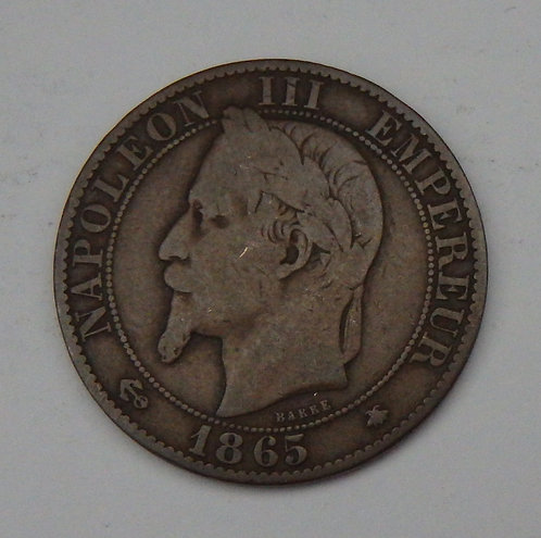 France - 5 Centimes - 1865A