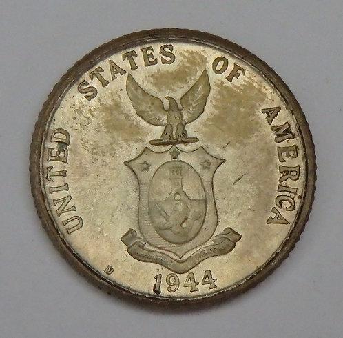 Philippines - 20 Centavos - 1944-D