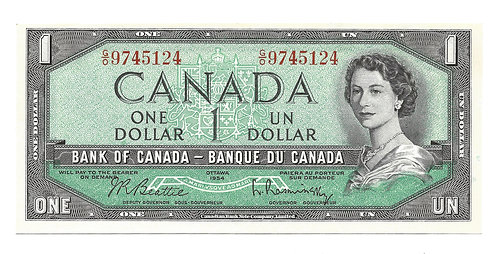 Canada - $1 Note - 1961-72