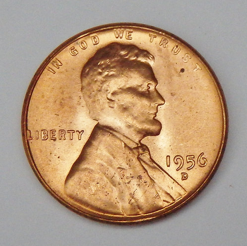 1956-D Wheat Cent