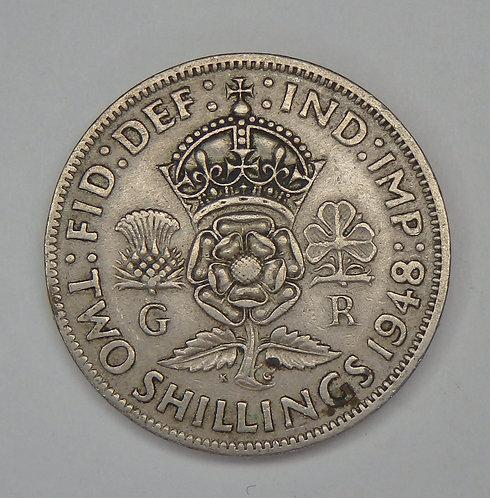 Great Britain - 2 Shillings - 1948