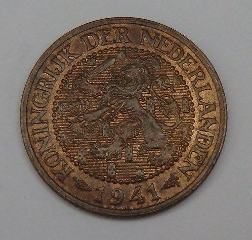 Netherlands - 2 1/2 Cents - 1941