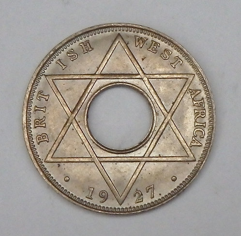 British West Africa - 1/10 Penny - 1927