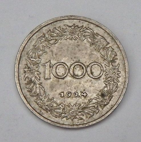 Austria - 1000 Kronen - 1924