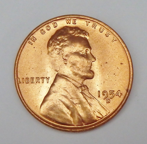 1954-D Wheat Cent