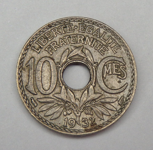 France - 10 Centimes - 1932