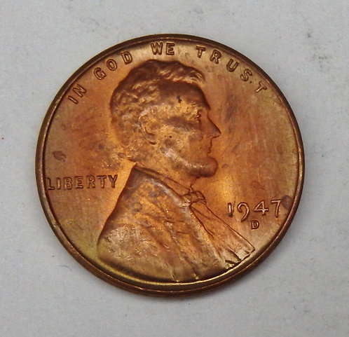 1947-D Lincoln Cent