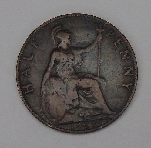 Great Britain - Half Penny - 1903