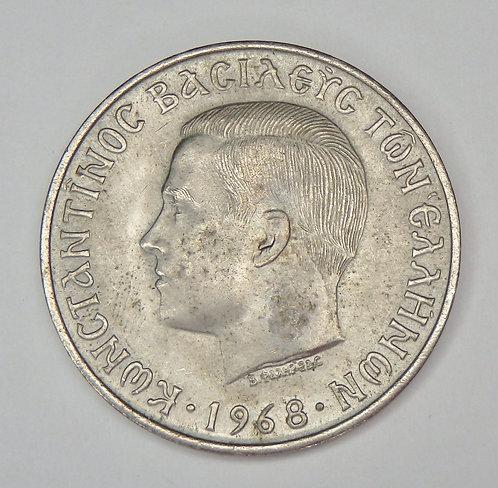 Greece - 10 Drachmai - 1968