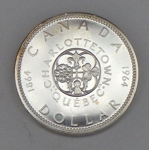 Canada - Dollar - 1964