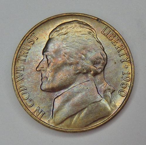1960 Jefferson Nickel