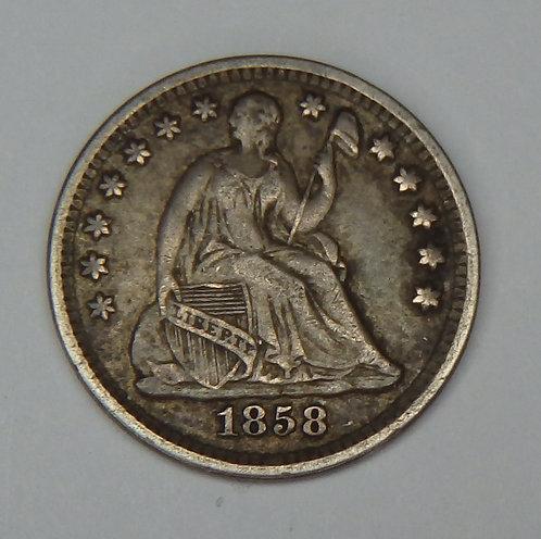 1858 Half Dime