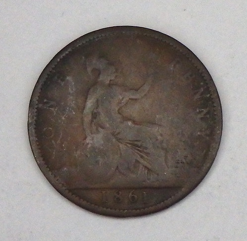 Great Britain - Penny - 1861