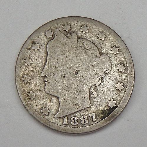 1887 Liberty (V) Nickel