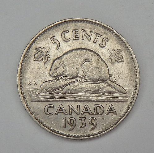 Canada - Nickel - 1939