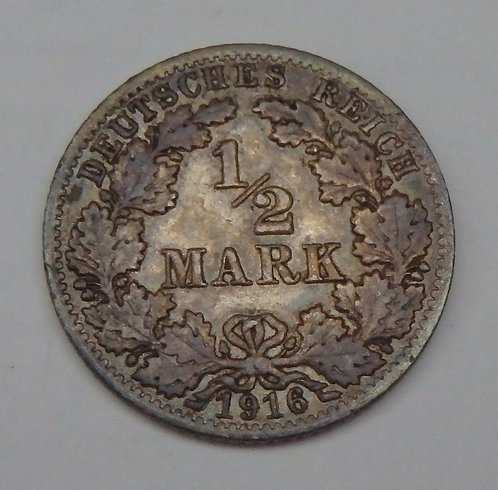 Germany - Half Mark - 1916A