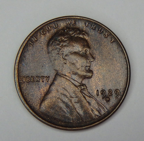 1929-D Wheat Cent