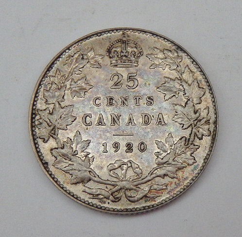 Canada - 25 Cents - 1920