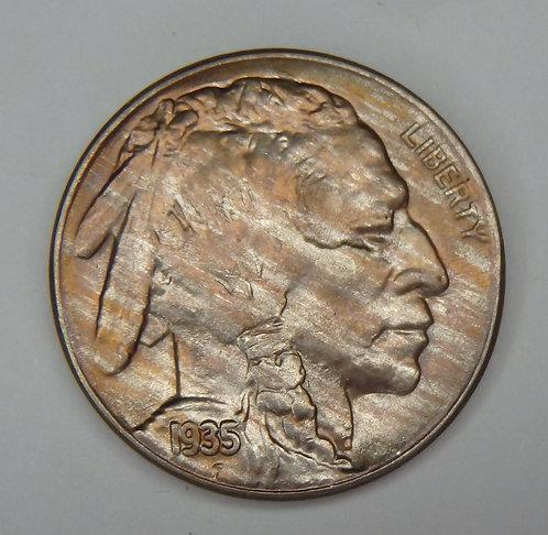 1935-S Buffalo Nickel