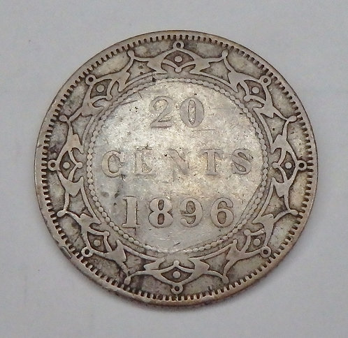 Canada - 20 Cents - 1896