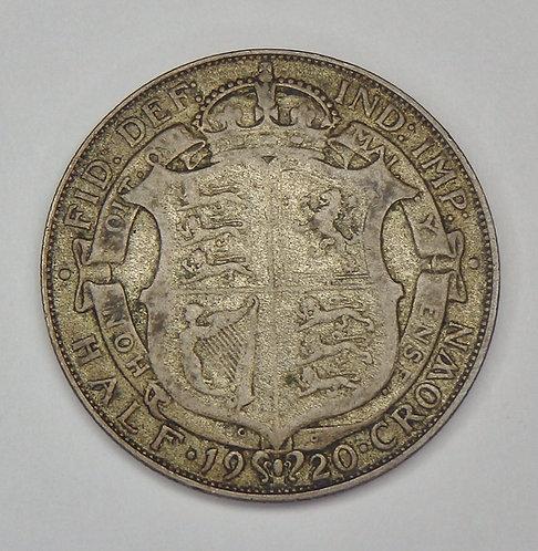 Great Britain - Half Crown - 1920