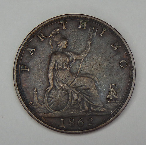 Great Britain - Farthing - 1862