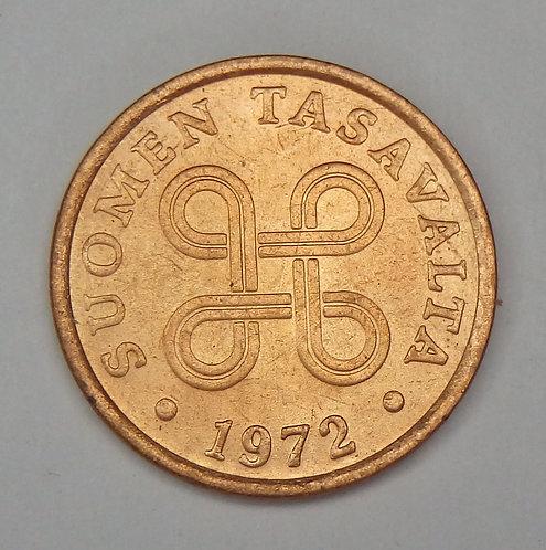 Finland - 5 Penna - 1972