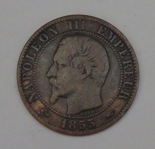 France - 5 Centimes - 1855A