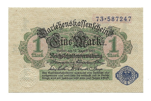 Germany - 1 Mark - 1914