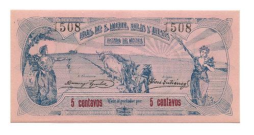 Mexico - 5 Centavos - 1915